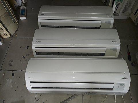 Bán máy lạnh nội địa hitachi inverter tiết kiệm 60% điện 1hp
