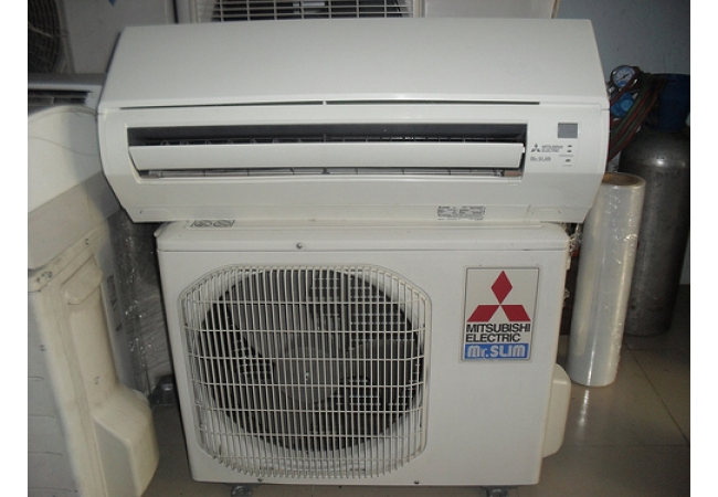 Máy lạnh cũ Mitsubishi 1.5Hp Inverter