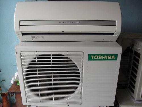 Máy lạnh cũ Toshiba Inverter  1hp
