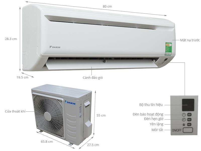 Máy lạnh Daikin 1.5 HP FTV35AXV1